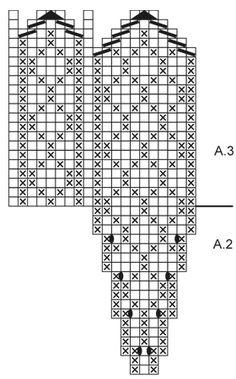 Christmas Claps - Stickade vantar till jul med nordiskt mönster i DROPS Karisma. Tema: Jul. - Free pattern by DROPS Design Drops Design, Print Patterns, Threading