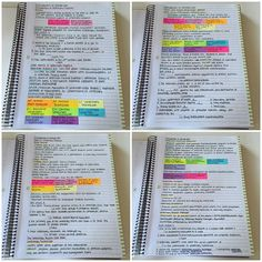 """""""This is what I do when I'm off Instagram. Note-taking, test-taking, etc. I love my notes and I'm proud of how they look and how helpful they are even…"""""""