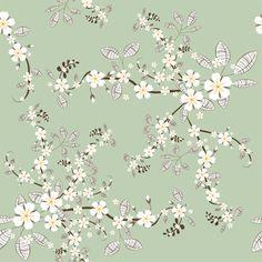 Cherry Blossoms Shelf Paper