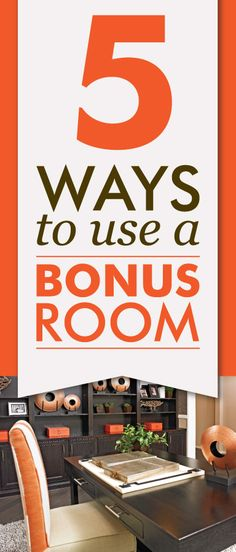 Game room, bonus room, rec room, loft—whatever you choose to call it, an extra room in your house can come in handy. Here are five creative ways to use these spaces. | Richmond American blog