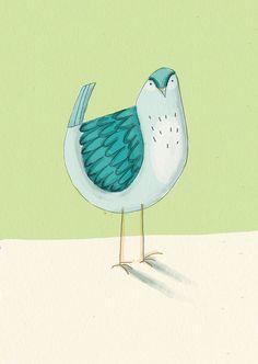 bird friend by Lizzie Stewart