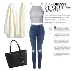 """""""Untitled #16"""" by suvisfi on Polyvore featuring Glamorous and Michael Kors"""