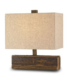 All Things Coastal Sea Glass| SErafini Amelia| LAMP love the wood base