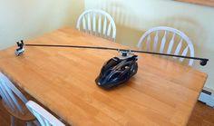 The swiveling 360 helmet mount - courtesy Phillip Tschersich Gopro Ideas, Gopro Chest Mount, Gopro Diy, Gopro Accessories, Camera Gear, Photo Tips, Creative, Photojournalism, Drinking