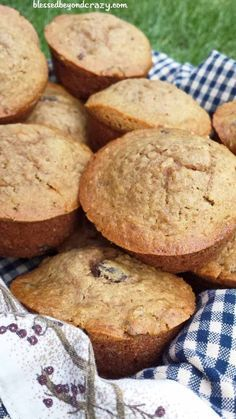 Breakfast Oatmeal Muffins - not only delicious they are also healthy. #blessedbeyondcrazy #muffins #oatmeal