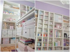 Sugarplumcraftycorner blog ~ Organized Studio Is Always An Inspiration