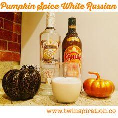 Pumpkin Spice White Russian Thumbnail