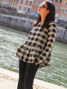 Marthe blouse - Tiles