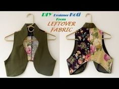 DIY Designer KOTI from leftover Fabric full tutorial//Pn'z World Sewing Blouses, Sewing Shirts, Stitching Dresses, Kurta Neck Design, Leftover Fabric, Dress Tutorials, Design Tutorials, Sewing Hacks, Sewing Ideas