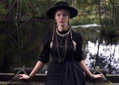 True Grit cowgirl fashion.