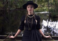 [True Grit inspired cowgirl fashion]