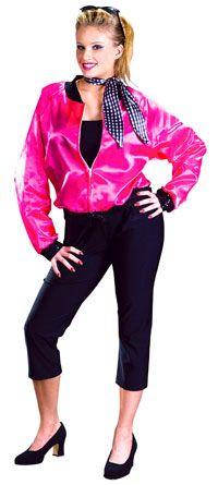 Adult T-Bird Sweetie 50s Costume - Fifties Costumes