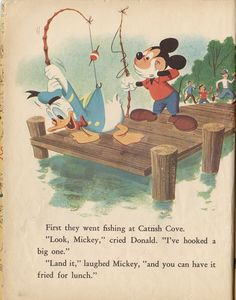 Walt Disney's Donald Duck Lost & Found (1960) Published artwork by Bob Grant & Bob Totten