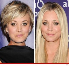 new Ideas womens hair cuts short kaley cuoco Long To Short Hair, Long Hair Cuts, Short Hair Styles, Celebrity Short Haircuts, Short Bob Hairstyles, Natural Hair Salons, Natural Hair Styles, Smooth Hair, Hair Pictures