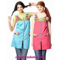 Pichi maestra setas- El Didal Girls Dresses, Summer Dresses, Blouse, Tutu, Shabby Chic, Sewing, Outfits, Clothes, Aprons