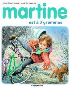 Martine est à 3 grammes