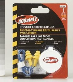 AEARO COMPANY #90586 TPL Flangestyle Earplug by Aearo. $1.49. AO SAFETY QUIET TIP EARPLUGS *For hearing protection *Rated 24 decibels *Complies with OSHA requirements