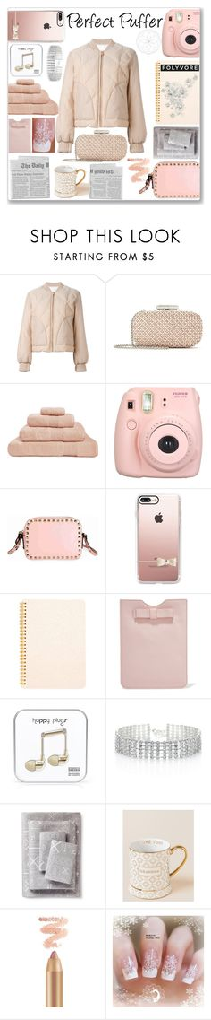 """Perfect Puffer"" by kyt7078 ❤ liked on Polyvore featuring See by Chloé, Oscar de la Renta, Hamam, Fujifilm, Valentino, Casetify, Tri-coastal Design, RED Valentino, Happy Plugs and Red Herring"