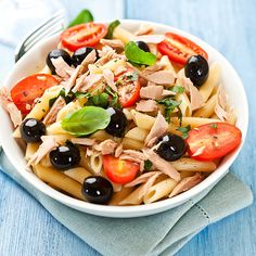 Tasty mediterranean tuna salad recipe, serves 3