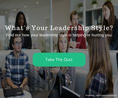 Do You Know Your Leadership Style? Find out if your leadership style is helping or hurting your success!  https://jasoncarthen.com/do-you-know-your-leadership-style-quiz/?utm_content=buffer757ab&utm_medium=social&utm_source=pinterest.com&utm_campaign=buffer