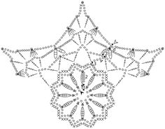 Crochet Snowflake Pattern, Crochet Stars, Crochet Doily Patterns, Crochet Snowflakes, Crochet Diagram, Thread Crochet, Crochet Doilies, Crochet Flowers, Crochet Home