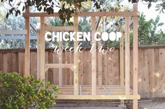 Chicken coop planning from @Bonnie Rush {A Golden Afternoon}