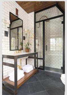 Perfect indoor #shower