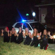 Hilarious idea for bachelorette party ** gotta do this for Donna** hahaha have to get Dave to do this for us, so we can later send the pic to our guys Bachelorette Party Pictures, Bachelorette Party Planning, Bachelorette Party Favors, Cop Party, Maid Of Honor, Friend Wedding, Dream Wedding, Wedding Ideas, Wedding Photos