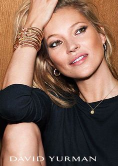 Check out Kate Moss in David Yurman's new jewelry ad campaign ...