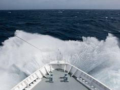 On a cruise ship between Antarctica and Cape Horn, the southernmost tip of South America, a traveler encounters the historically challenging Drake Passage.