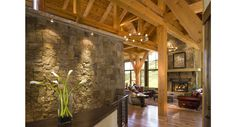 A Modernized Avon Ski Mountain Retreat | LuxeWorthy - Design Insight from the Editors of Luxe Interiors + Design