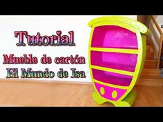 ▶ Manualidades: Mueble de cartón para niños, DIY cartoon furniture - YouTube - Isa ❤️ - YouTube