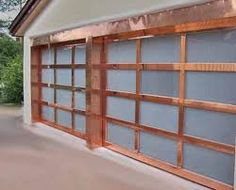 Glass Garage Doors   Access Door Company - Full View Glass Garage Doors http://www.pinterest.com/avivbeber3/contemporary-garage-doors-gates-fence/