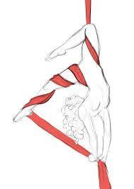 Resultado de imagen para tela acrobatica dibujo