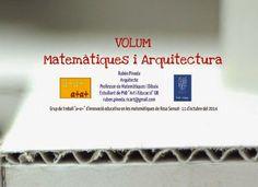 a+a+: Experiència: Volum, matemàtiques i arquitectura -... Math Activities, Maths, Barcelona, Personal Care, Initials, Architecture, Hay, Math Stations, Personal Hygiene
