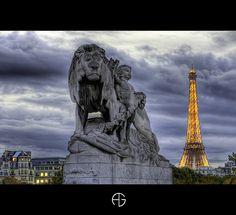 Pont Alexandre III & Tour Eiffel, Paris, France