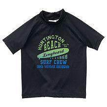 245821c8f28a0 Boys' Rash Vest - Black - TARGET Australia Boys Swimwear, Target, Trunks,