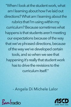 Learn smarter ways to design and revise curriculum on this podcast. Instructional Strategies, Instructional Design, Classroom Setup, Classroom Organization, Curriculum Design, Student Work, Rubrics, Teacher Resources, Assessment