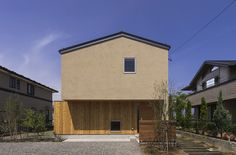 © Yuko Tada Architects: MTKarchitects Location: Matsumoto, Nagano, Japan Architect In Charge: Akira Metoki Area: 128 sqm Year: 2014 Photographs: Yuko Japanese Architecture, Contemporary Architecture, Interior Architecture, Japanese House, Japanese Style, Kitchens And Bedrooms, Little Houses, Design Process, Home And Family