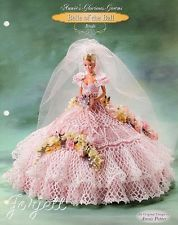 Bride, Annie's Glorious Gowns Belle of the Ball crochet pattern
