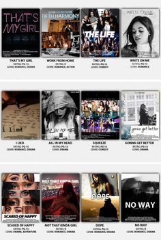 fifth harmony 7/27 movie posters twitter