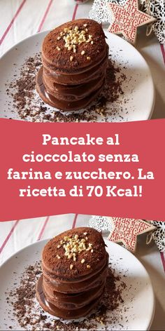 Healthy Cake, Healthy Sweets, Healthy Recipes, Crepes And Waffles, Pancakes, My Favorite Food, Favorite Recipes, Biscotti, Food Decoration