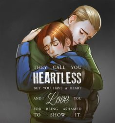 """donamoeba:""""They call you heartless; but you have a heart and I love you for being ashamed to show it. You are ashamed of your flood, while others are ashamed of their ebb."""" - Friedrich Nietzsche, Thus Spoke Zarathustracommissioned art by mstrmagnolia (This looks like Erwin. So. Here.)(And a brown haired Levi)"""