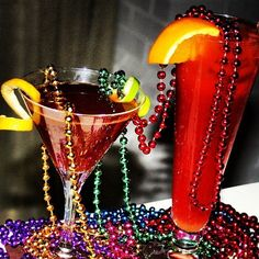 """Masquerade"" and Hurricane Cocktails #fattuesday"