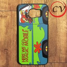 Here We Go Magic Mobile Scooby Doo Samsung Galaxy S7 Edge Case