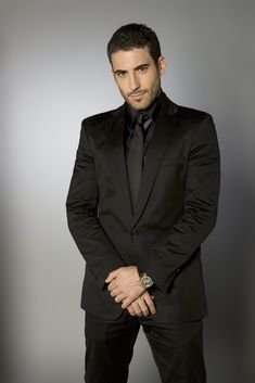 Miguel Angel Silvestre (I'd pick him as Ranger, if @janetevanovich's Stephanie Plum series were made into TV series)