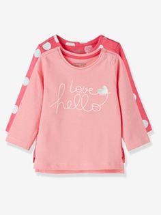 22c2b1098f76 HAPPY PRICE 2er-Pack Langarmshirts für Baby Mädchen - -  numero-image