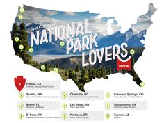 The Best Cities for National Park Lovers | redfin: You can be both country mouse and city mouse. #CitiesNearNationalParks
