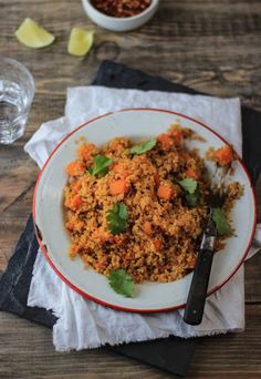 Spicy Quinoa with Sweet Potato recipe at Messy Kitchen Stories! Sounds absolutely delicious ! Would be loaded with flavour and only takes 5 minutes to prepare...