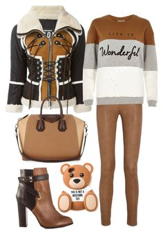 """""""Untitled #171"""" by poohgurl ❤ liked on Polyvore featuring mode, MiH Jeans, Dsquared2, River Island, Givenchy, ALDO en Moschino"""